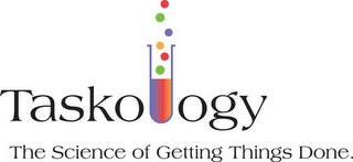 mark for TASKOLOGY THE SCIENCE OF GETTING THINGS DONE., trademark #85426062