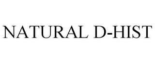 mark for NATURAL D-HIST, trademark #85426345