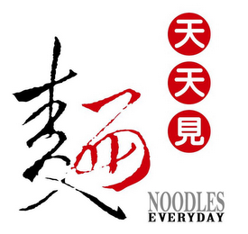 mark for NOODLES EVERYDAY, trademark #85426928