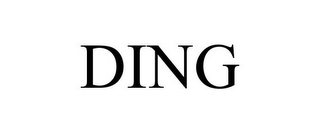 mark for DING, trademark #85426966