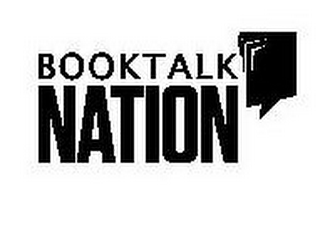 mark for BOOKTALK NATION, trademark #85428157