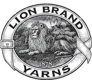 mark for LION BRAND YARNS 1878, trademark #85428229