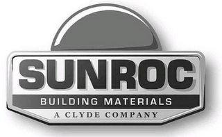 mark for SUNROC BUILDING MATERIALS A CLYDE COMPANY, trademark #85428570