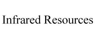 mark for INFRARED RESOURCES, trademark #85428581