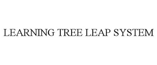 mark for LEARNING TREE LEAP SYSTEM, trademark #85428687