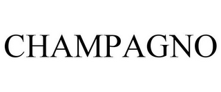 mark for CHAMPAGNO, trademark #85429255