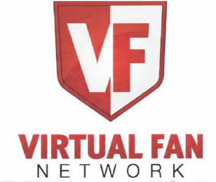 mark for VF VIRTUAL FAN NETWORK, trademark #85430167