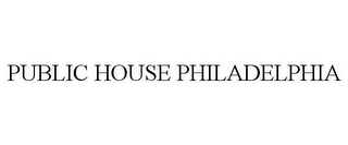 mark for PUBLIC HOUSE PHILADELPHIA, trademark #85430335