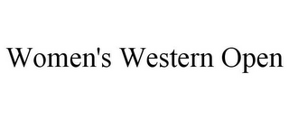 mark for WOMEN'S WESTERN OPEN, trademark #85430681