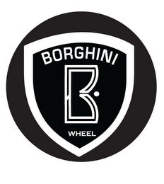 mark for BORGHINI WHEEL B, trademark #85431065