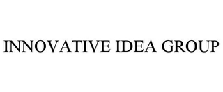 mark for INNOVATIVE IDEA GROUP, trademark #85431216