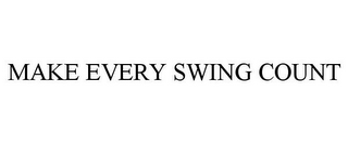 mark for MAKE EVERY SWING COUNT, trademark #85432268