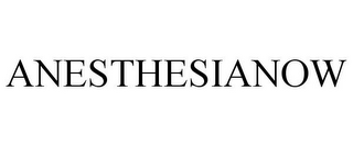 mark for ANESTHESIANOW, trademark #85433183