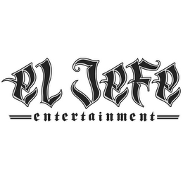 mark for EL JEFE ENTERTAINMENT, trademark #85433278