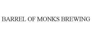 mark for BARREL OF MONKS BREWING, trademark #85433754