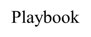mark for PLAYBOOK, trademark #85433764