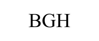mark for BGH, trademark #85434348