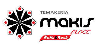 mark for TEMAKERIA MAKIS PLACE ROLLS & ROCK, trademark #85434782