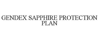 mark for GENDEX SAPPHIRE PROTECTION PLAN, trademark #85435221