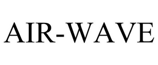 mark for AIR-WAVE, trademark #85435323