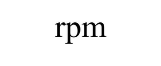 mark for RPM, trademark #85435450