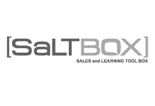 mark for SALTBOX SALES AND LEARNING TOOL BOX, trademark #85435802