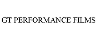 mark for GT PERFORMANCE FILMS, trademark #85436798