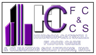 mark for H C F C & C S HUDSON-CATSKILL FLOOR CARE & CLEANING SOLUTIONS, INC., trademark #85437164