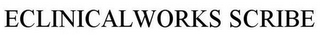 mark for ECLINICALWORKS SCRIBE, trademark #85437642