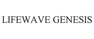 mark for LIFEWAVE GENESIS, trademark #85438285