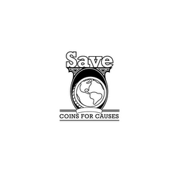 mark for SAVE COINS FOR CAUSES, trademark #85438583