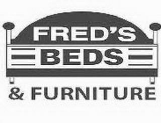 mark for FRED'S BEDS & FURNITURE, trademark #85438673