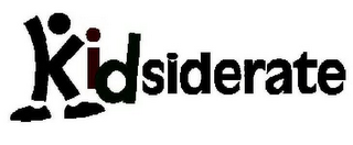 mark for KIDSIDERATE, trademark #85439164