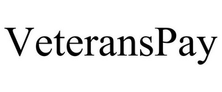 mark for VETERANSPAY, trademark #85439172
