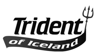 mark for TRIDENT OF ICELAND, trademark #85439186