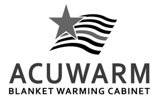 mark for ACUWARM BLANKET WARMING CABINET, trademark #85439398