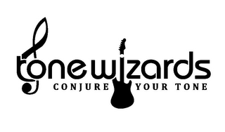 mark for TONE WZARDS CONJURE YOUR TONE, trademark #85439466