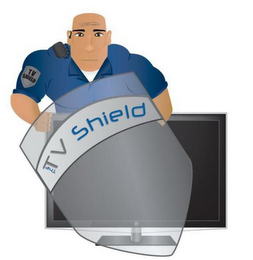 mark for THE TV SHIELD, trademark #85439758