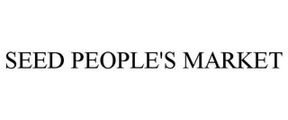 mark for SEED PEOPLE'S MARKET, trademark #85439767