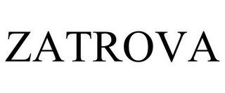 mark for ZATROVA, trademark #85439833