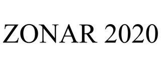 mark for ZONAR 2020, trademark #85440328