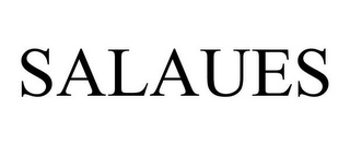 mark for SALAUES, trademark #85440919