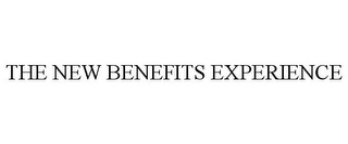 mark for THE NEW BENEFITS EXPERIENCE, trademark #85441057