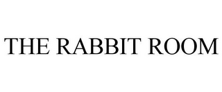 mark for THE RABBIT ROOM, trademark #85441063