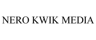mark for NERO KWIK MEDIA, trademark #85441318