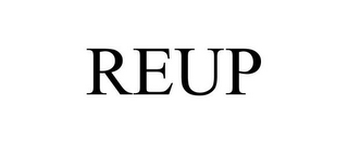 mark for REUP, trademark #85441637