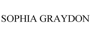 mark for SOPHIA GRAYDON, trademark #85441743