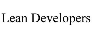 mark for LEAN DEVELOPERS, trademark #85442526