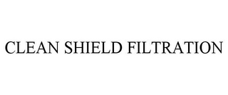 mark for CLEAN SHIELD FILTRATION, trademark #85443486