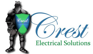 mark for CREST ELECTRICAL SOLUTIONS CREST ELECTRICAL SOLUTIONS, trademark #85443545